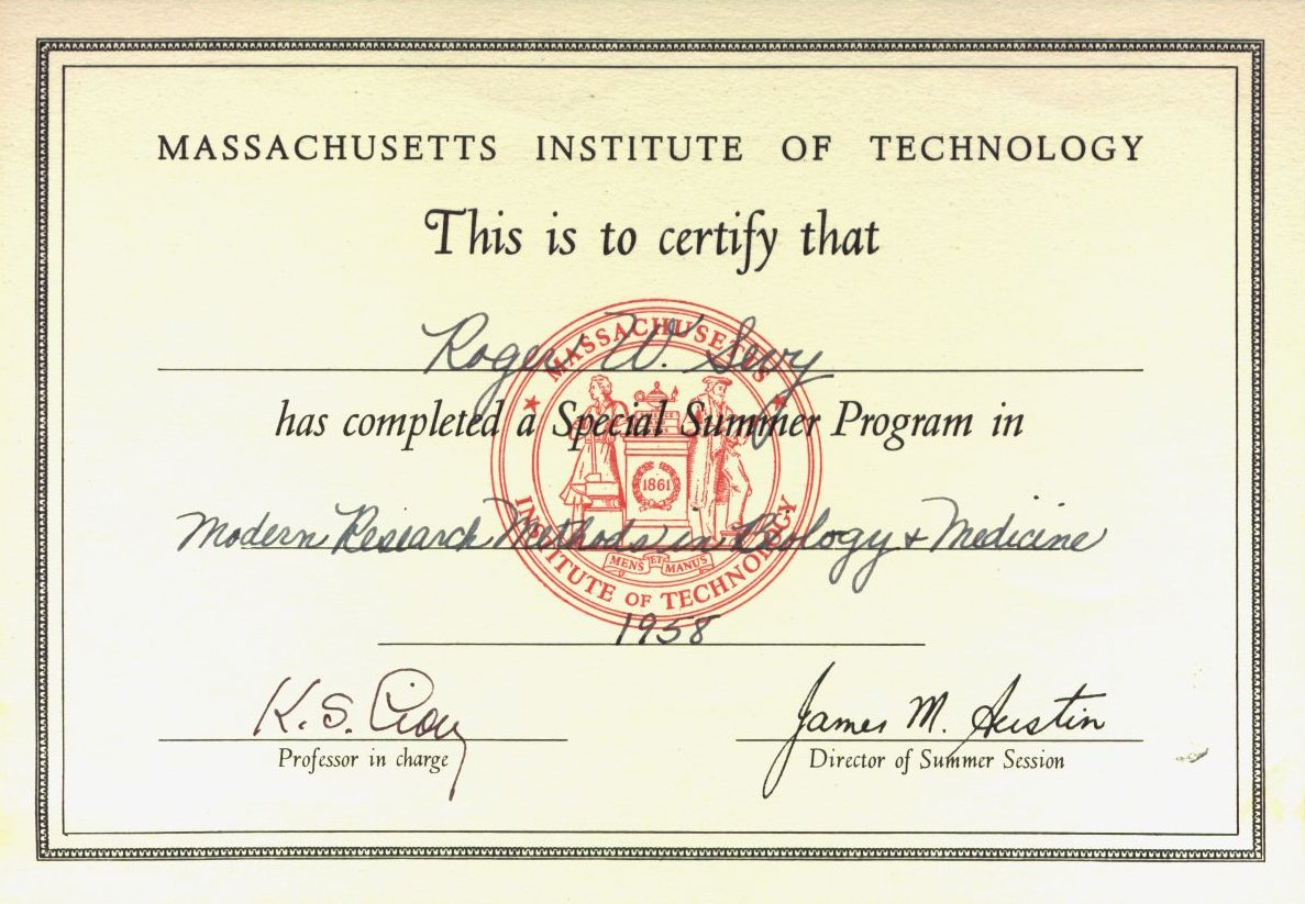 An unusual path to an unexpected career mit summer program in medical research 1958 xflitez Gallery
